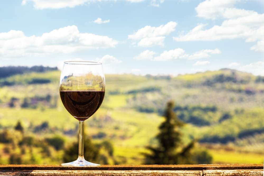 A glass of Chianti red wine | What is Chianti classico wine