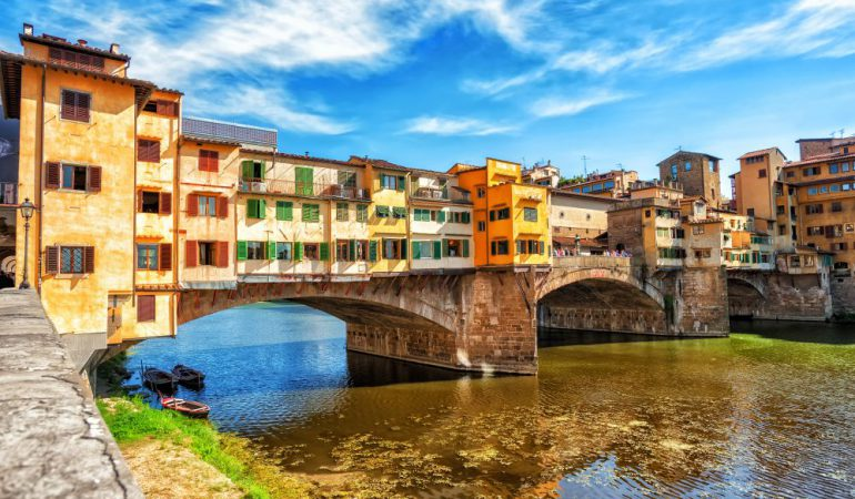 The Ponte Vecchio of Florence