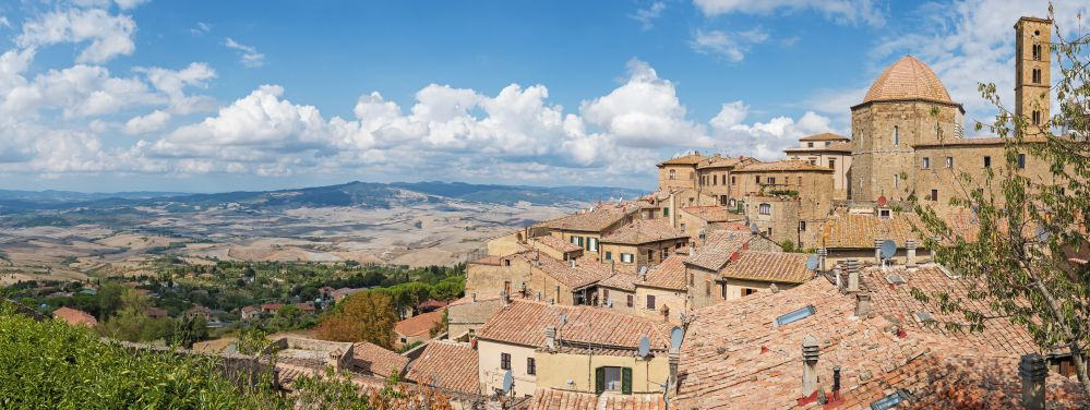 A landscape of Volterra | Best towns to visit in Tuscany | Tuscan Wanders Travel Blog
