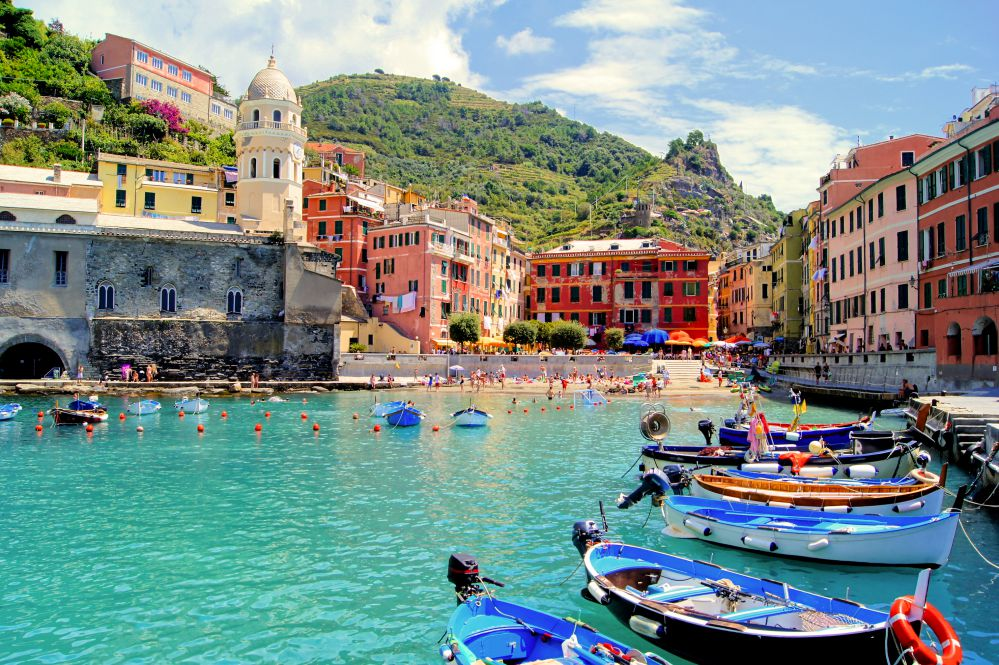 The harbour of Monterosso al Mare
