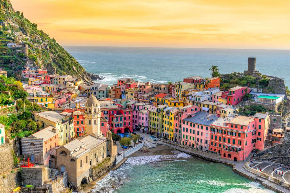 Vernazza, one of the Cinque Terre | Day trips from Florence