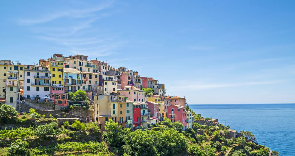 The small village of Corniglia | Best Cinque Terre Town