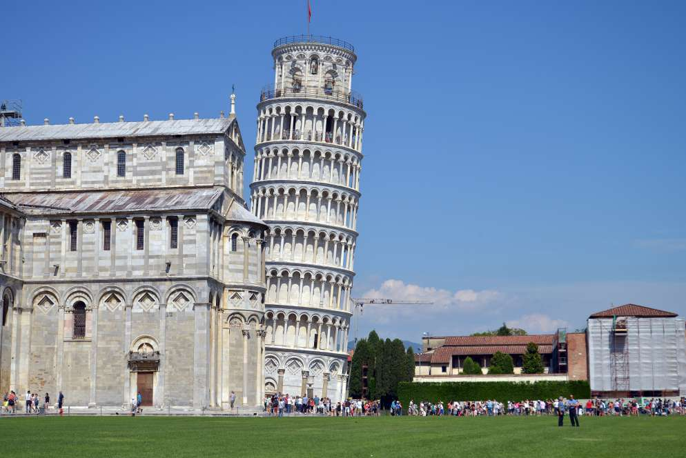 Leaning tower of Pisa tilt   Leaning tower of Pisa facts