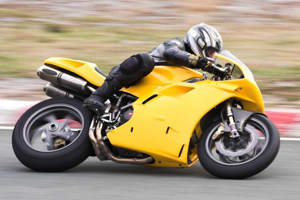 A moto GP on the Modena race track | Day trips from Florence