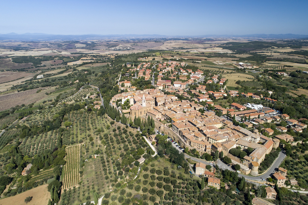 The city center of Pienza   What to do in Pienza