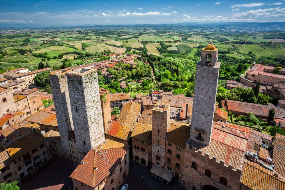 Landscape of San Gimignano   Things to do in San Gimignano