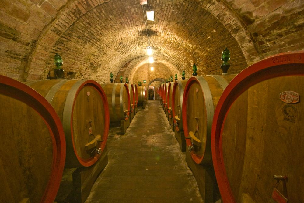 A typical cave of the vino nobile of Montepulciano   What to see and do in Montepulciano