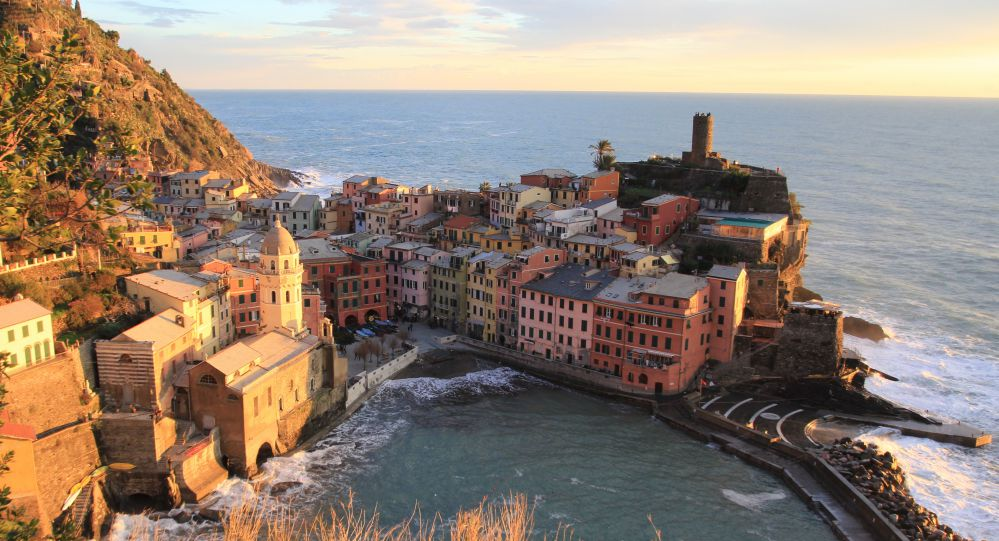 A view of Vernazza during winter | Cinque terre trip in one day