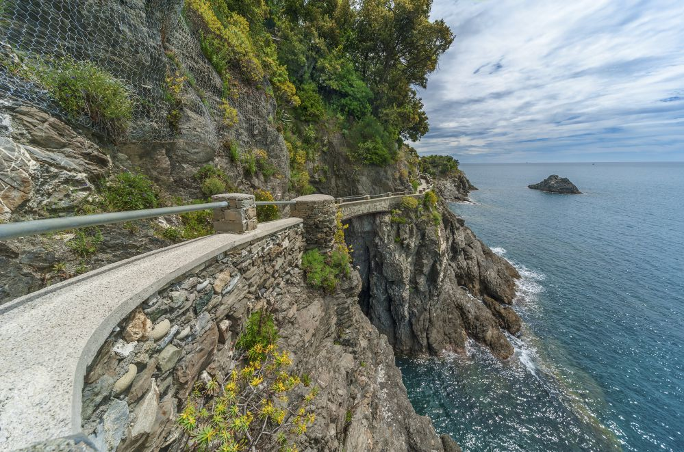 A section of the Blue Path | CInque Terre trip in one day