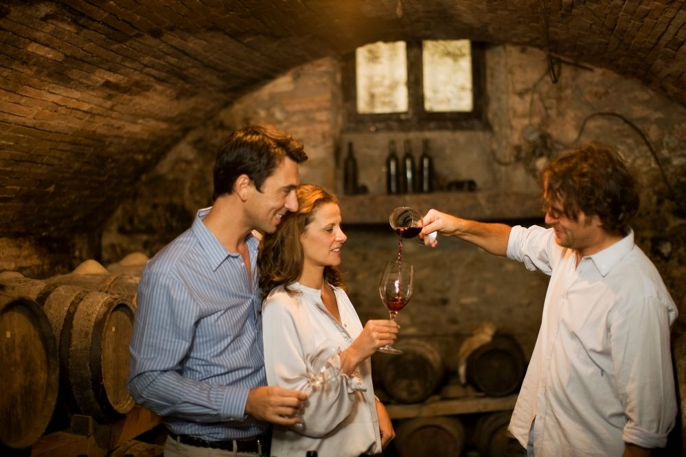 Visiting a cave   Wine tasting in Tuscany tour