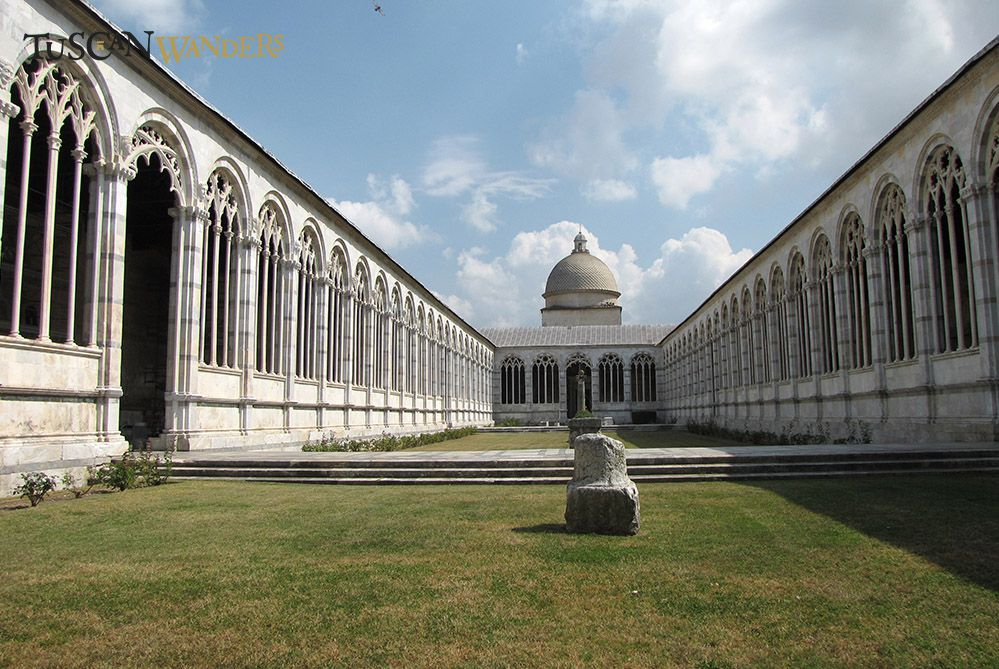 A view of the Camposanto of Pisa
