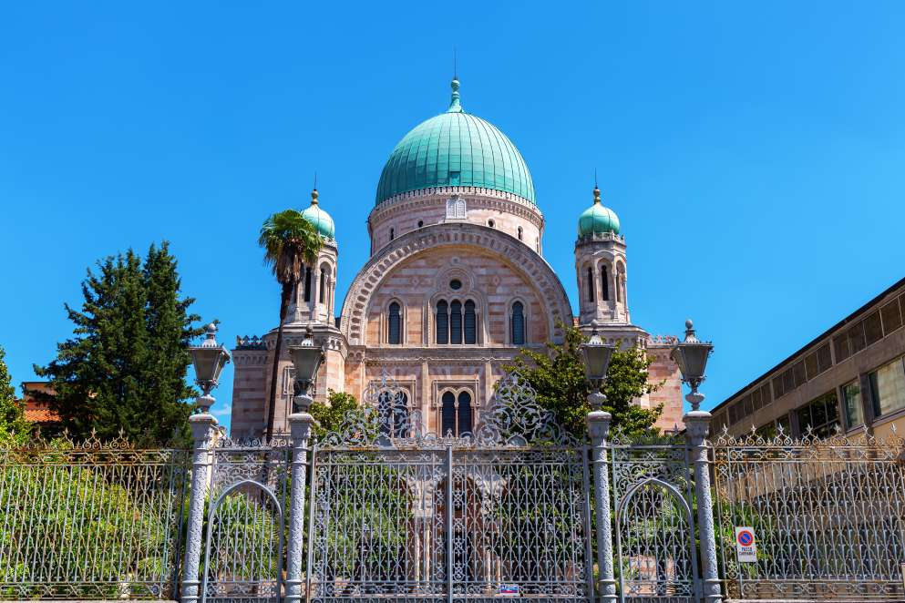 Great Synagogue in Florence, Italy