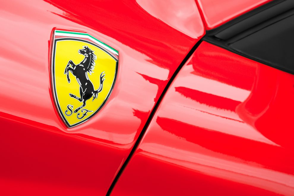 The rearing horse, Ferrari iconic logo