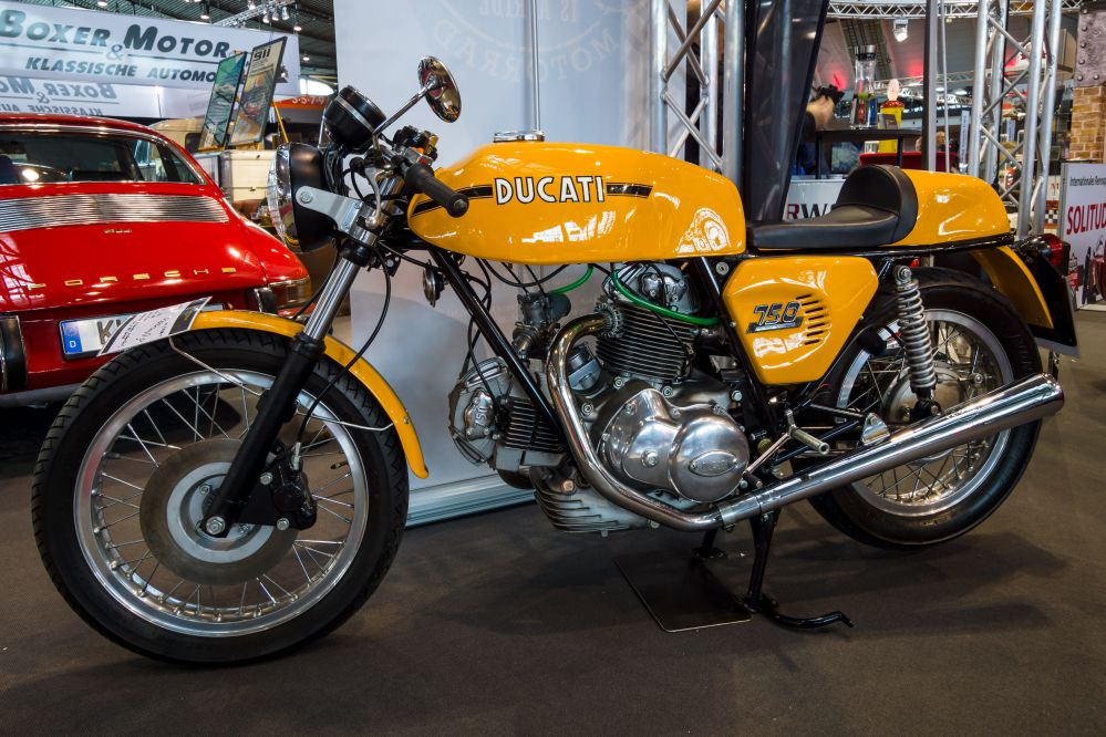 Ducati 750, another great classic
