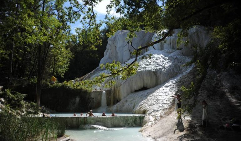 Bagni San Filippo Hot Springs