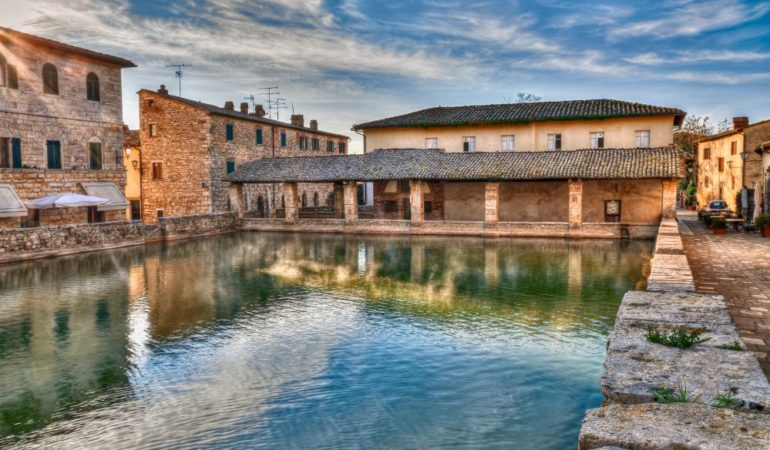 Bagno Vignogni Hot Springs